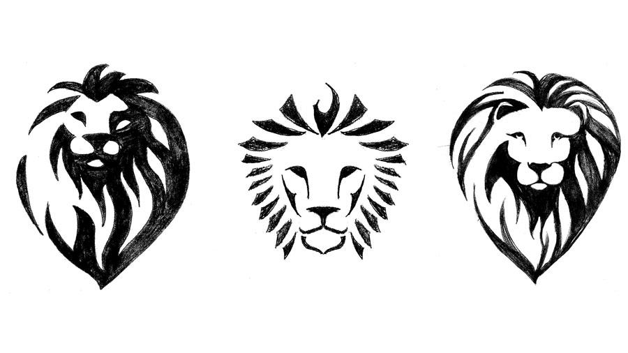 Original Lion Dental sketches