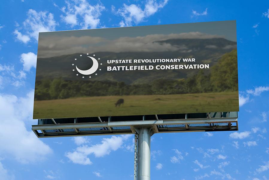 Logo Design Upstate Revolutionary War Battlefield Conservation